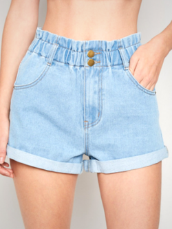'Georgia' Elastic Shorts