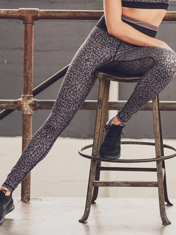 'Lena' Animal Print Leggings