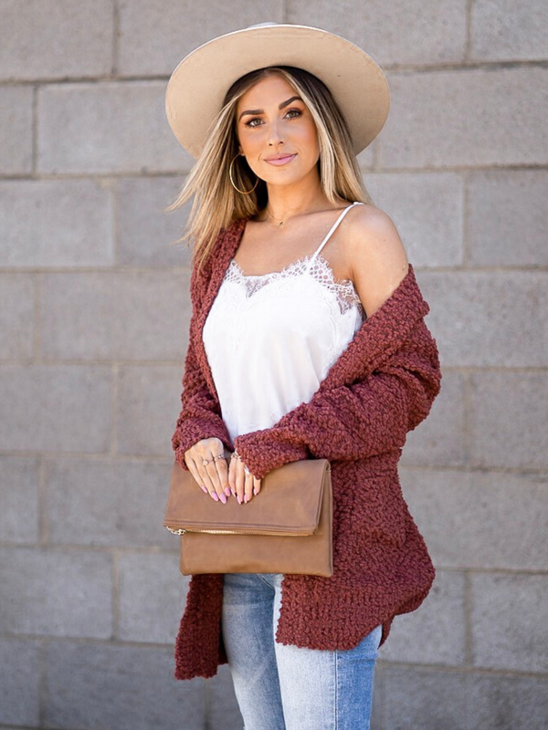 'Paige' Popcorn Super Soft Cardigan