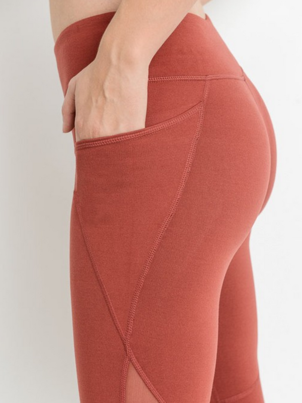 'Catherine' Capri Leggings