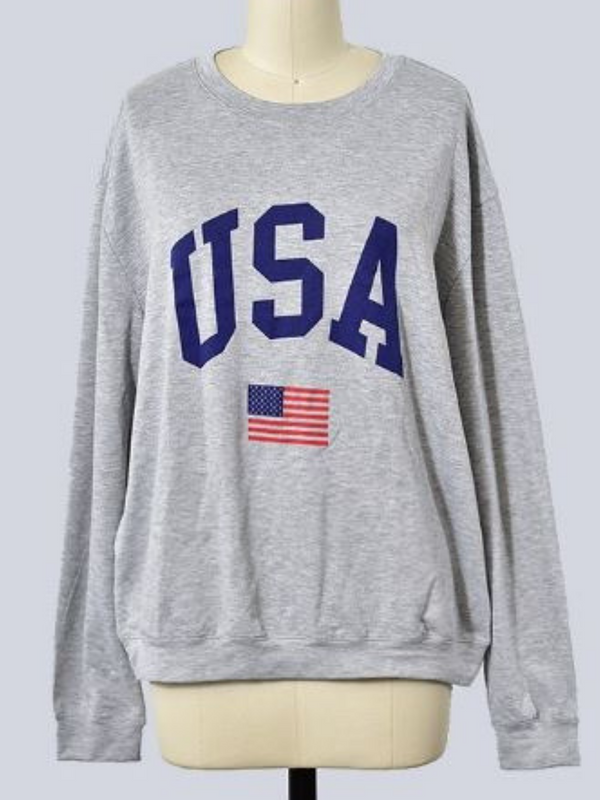 'Chelsea' USA Graphic Sweatshirt