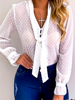 'Jamie' Long Sleeve Blouse