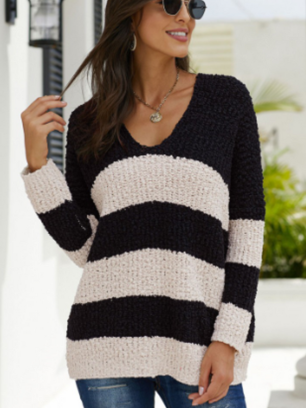 'Lola' Stripe Sweater