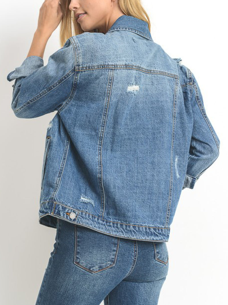 'Eliza' Denim Jacket