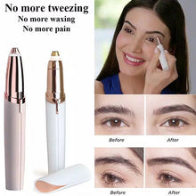 Load image into Gallery viewer, Painless Eyebrow Epilator