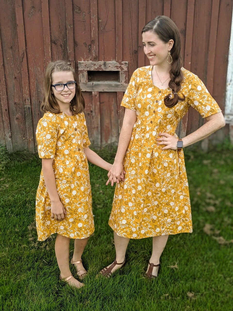 Mommy and Me Dresses -  Send Your Own Fabric!