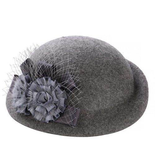 100% Wool Simplicity Women Lady Classic Hat