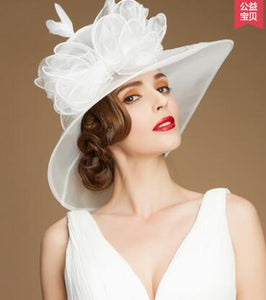 Summer Women Elegant Vintage Hats