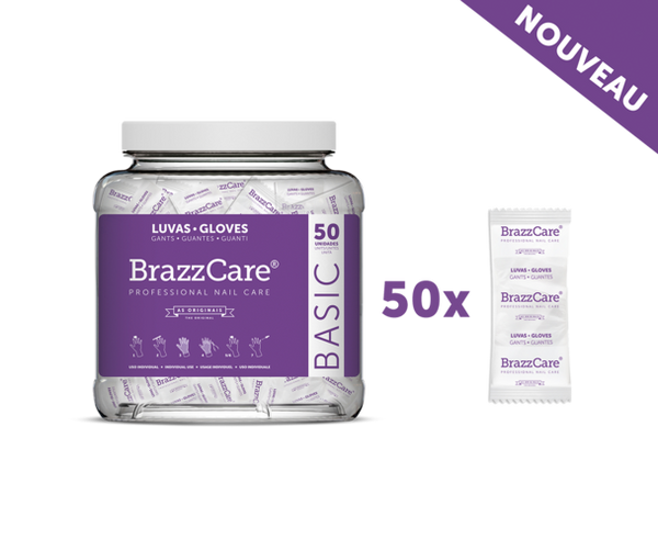 BrazzCare Basic (50 pédicures)