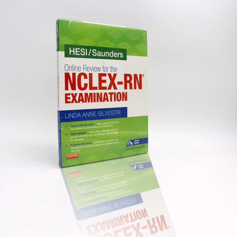 Hesi/Saunders Online Review for the NCLEX-RN Examination (2 Year) (Access Card)