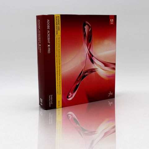 Adobe Acrobat X Professional Student and Teacher* MAC