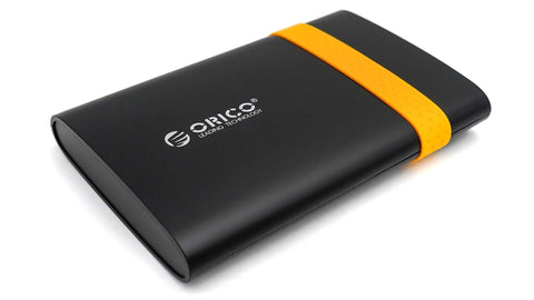 "Orico 250GB USB 3.0 Externe 2.5"" Festplatte 2538U3 - orange"