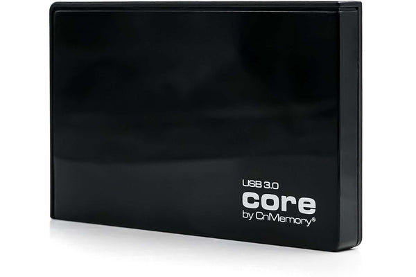 "Core by CnMemory 100GB, USB 3.0, 2.5"" Externe Festplatte, HDD - schwarz - Hardware Best"