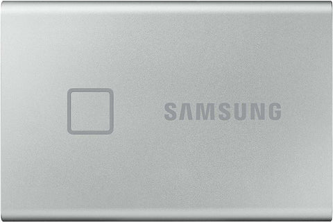 Samsung T7 Touch Portable SSD 500 GB USB 3.2 Gen.2 Externe MU-PC500S - Metallic Silver