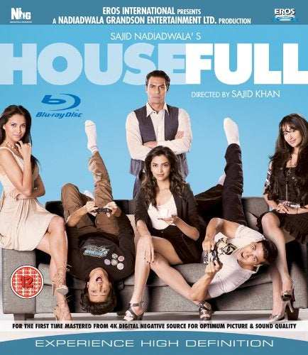 Housefull Blu Ray (Single Disc) [DVD] [UK Import]