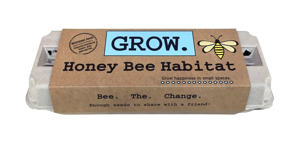 Introducing our New Pollinator Garden, the Honey Bee Habitat