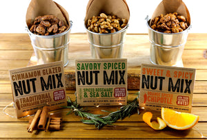 Our Nut Mixes are Sugary, Spicy, and Everything Nice-y