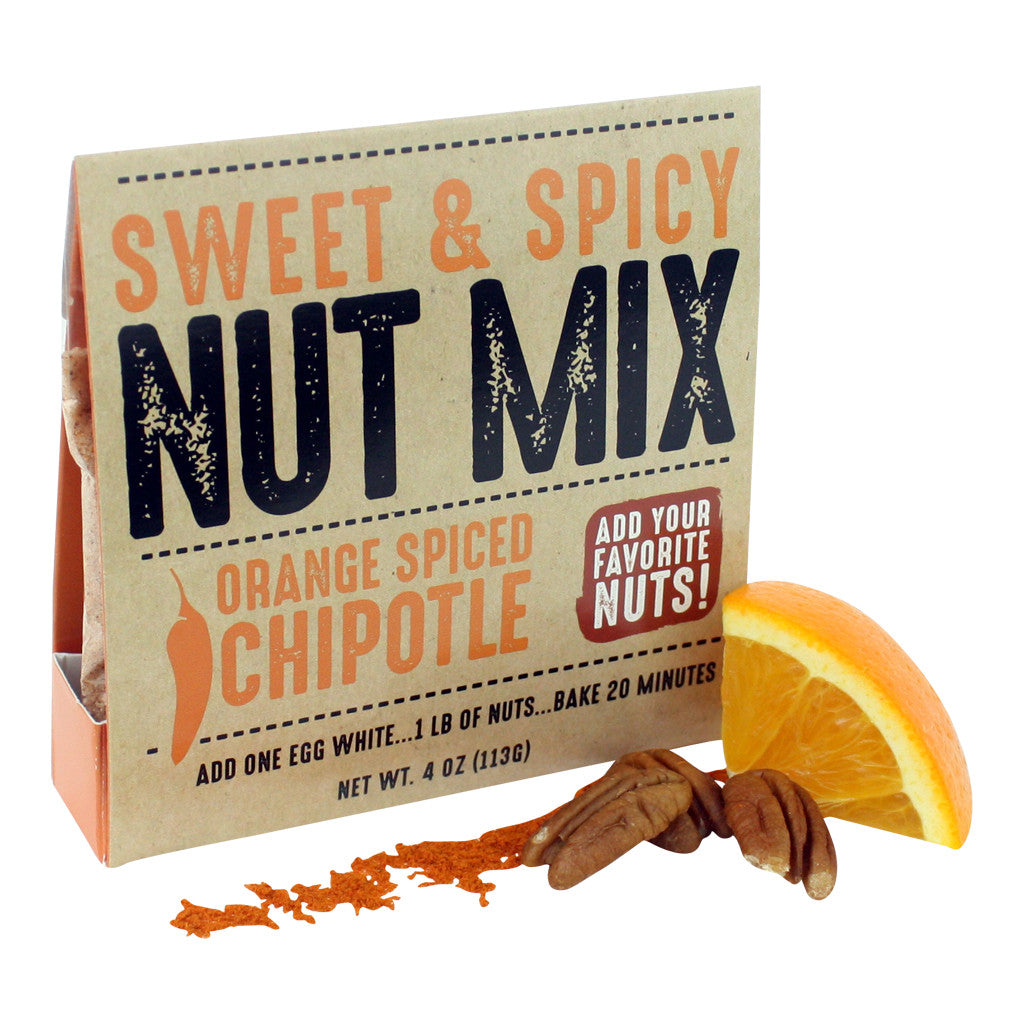 Nut Mix ~ Orange Spiced Chipotle