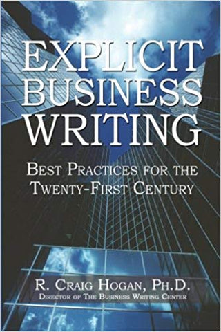Business Writing Book