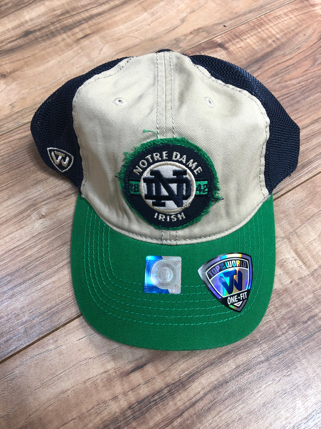 Notre Dame Fighting Irish NCAA Top of the World Honors Flex Mesh Hat