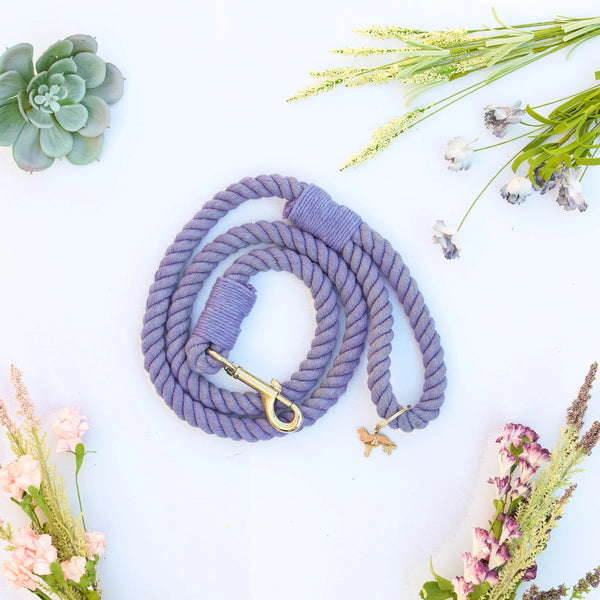 WEHO | PERIWINKLE rope leash