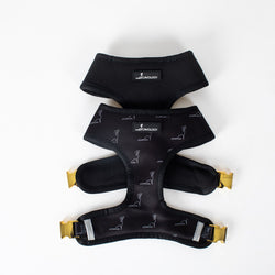 REVERSIBLE HARNESS - Signature Onyx