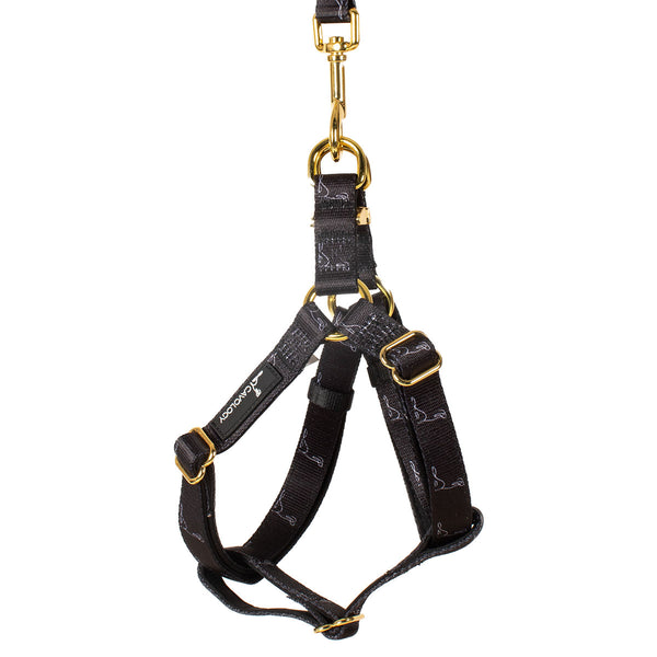 STEP IN HARNESS - Signature Onyx