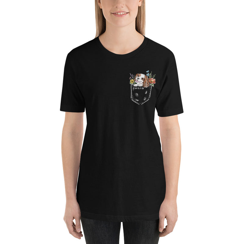 CAV IN POCKET (blenheim) Black T-Shirt