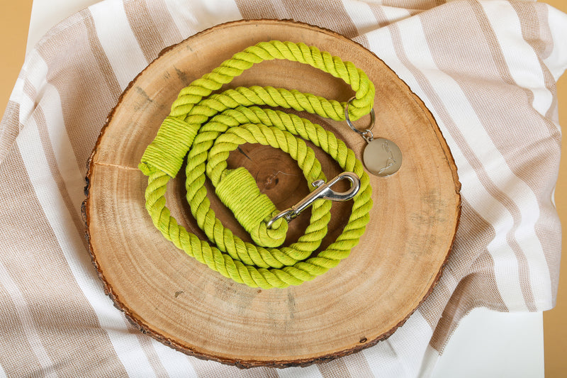 FIDDLE LEAF green Rope Leash