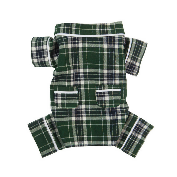 Green Plaid Pyjamas fabdog®