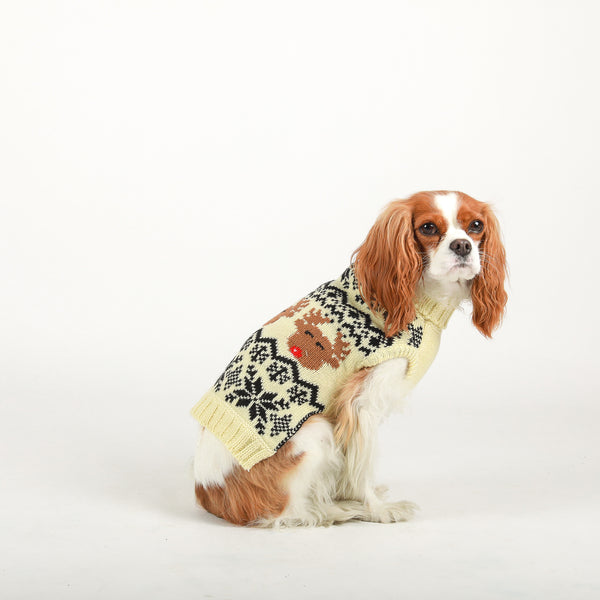 Reindeer Fairisle Sweater fabdog®