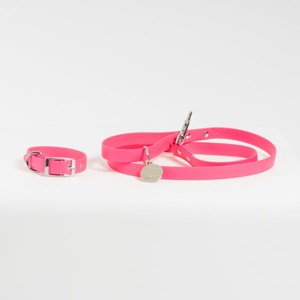 NEWPORT BEACH Leash and Collar Set