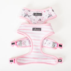 Reversible Harness - Fiori Rosa