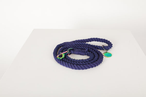 BEACH NIGHTS Dark Purple Leash