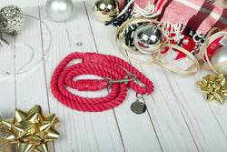 CANDIED CRANBERRY Rope Leash