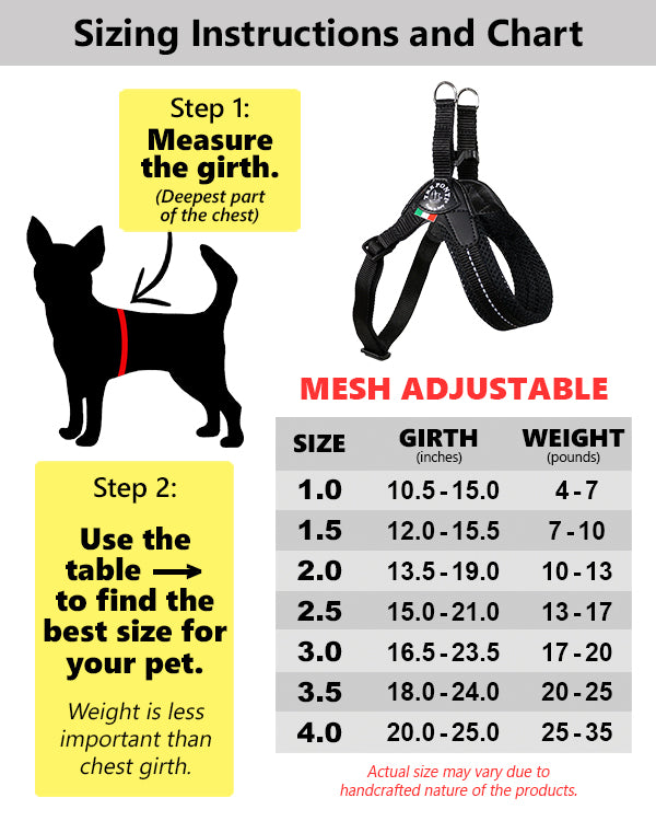 Tre Ponti Mesh Adjustable Purple Harness