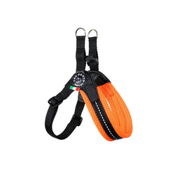 Tre Ponti Mesh Adjustable orange Harness