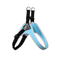 Tre Ponti adjustable blue harness