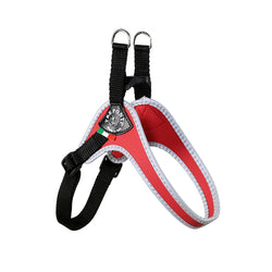 Tre Ponti adjustable red harness