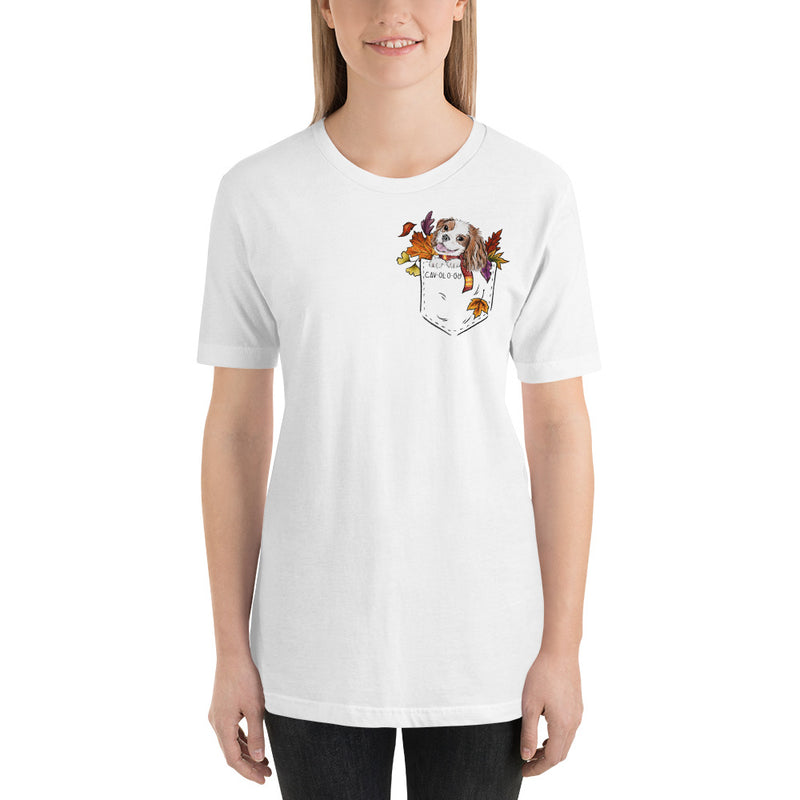 Cav in Pocket (blenheim) *FALL EDITION* White Unisex T-Shirt