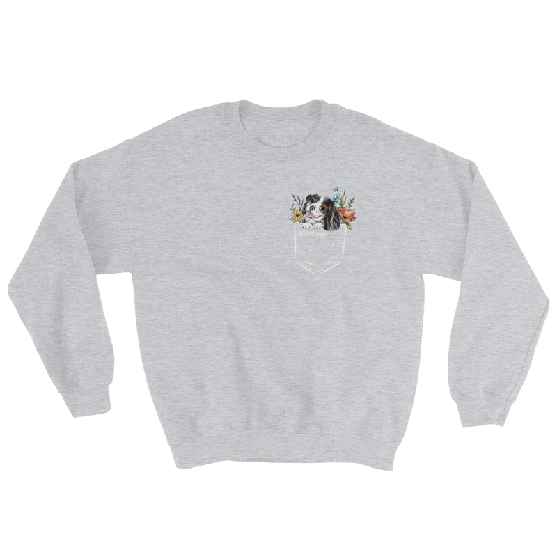CAV IN POCKET (tricolor) Unisex Sweatshirt