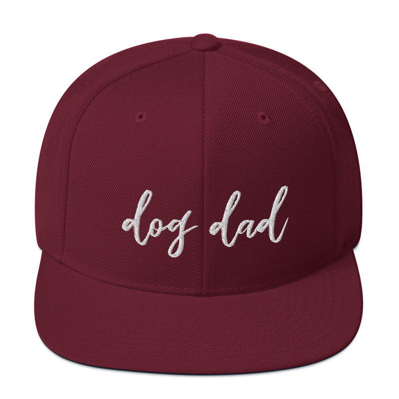 Dog Dad Snapback Hat