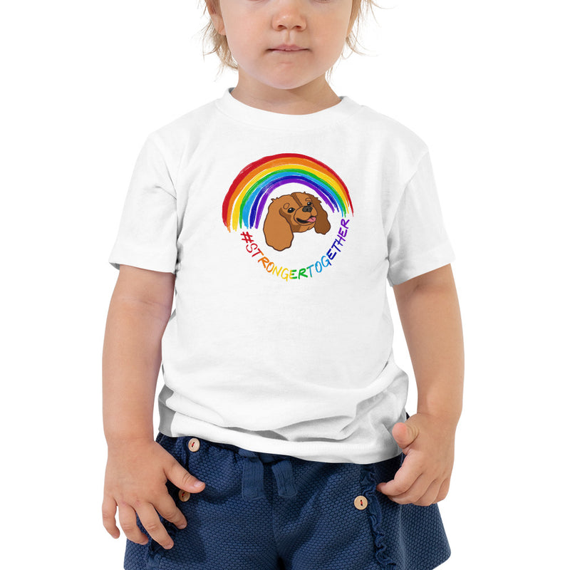 #StrongerTogether Ruby Charity Toddler Tee