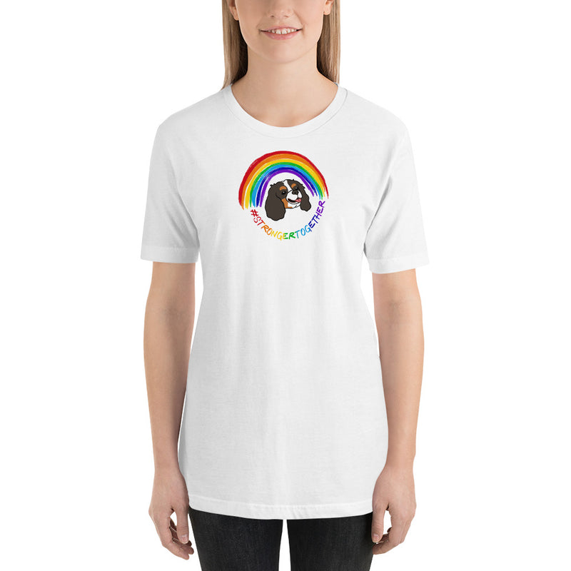 #StrongerTogether Tricolor Charity Unisex T-Shirt