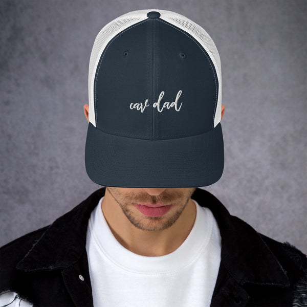 Cav Dad Retro Trucker Cap