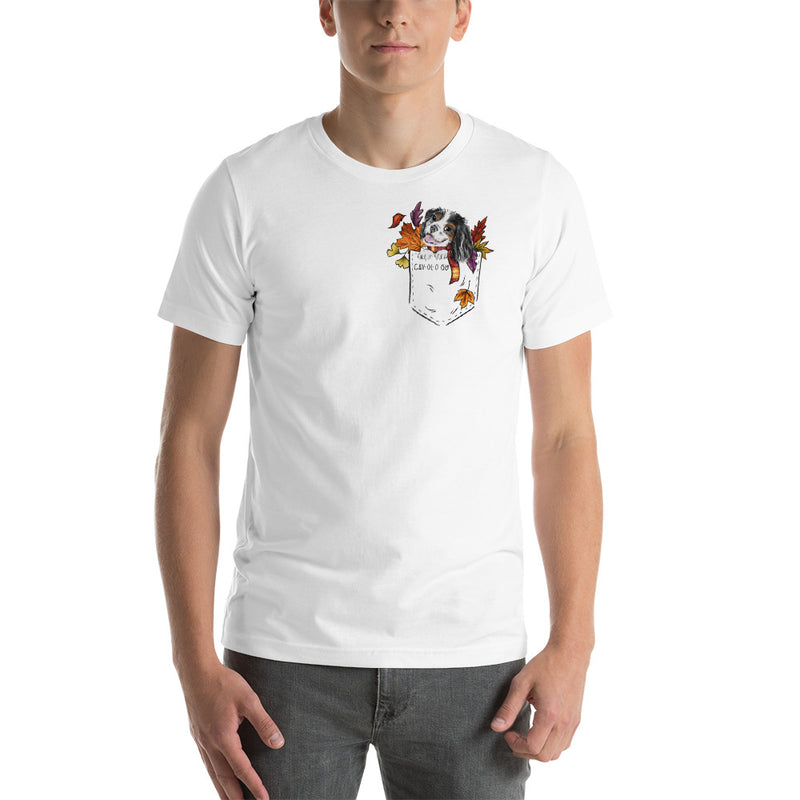 Cav in Pocket (tricolor) *FALL EDITION* Unisex T-Shirt