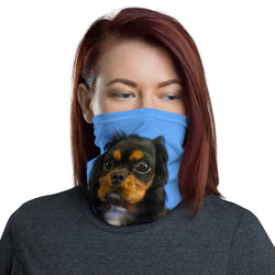 Black & Tan Neck Gaiter