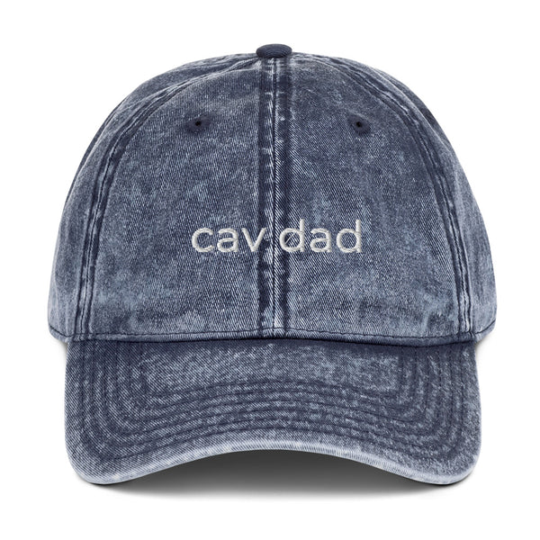 Cav Dad Vintage Cotton Twill Cap