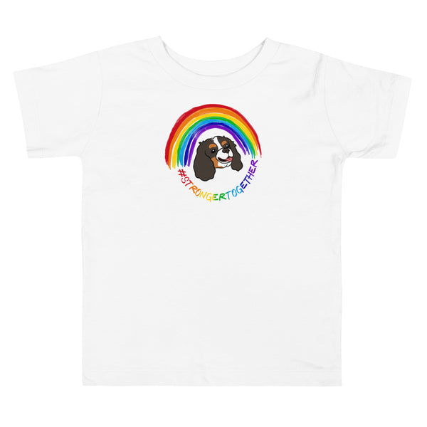 #StrongerTogether Tricolor Charity Toddler Tee
