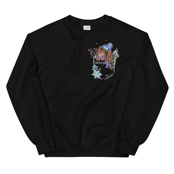 SNOW CAV SWEATSHIRT (ruby)